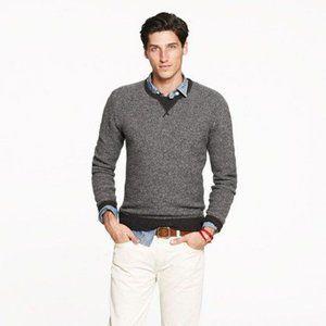 J. Crew Men's 100% Wool Crewneck Sweatshirt -Brown
